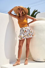 Rombi Mini Skirt - Annani
