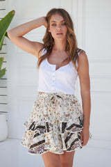 Miri Mini Skirt - Alaina