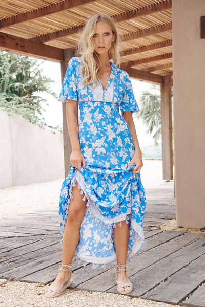 Riviera Maxi Dress - Erdem