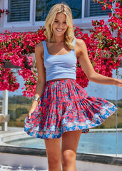Cha Cha Mini Skirt - Strawberry Kiss