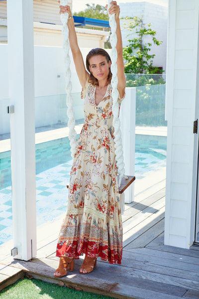 Carmen Maxi Dress - Joni