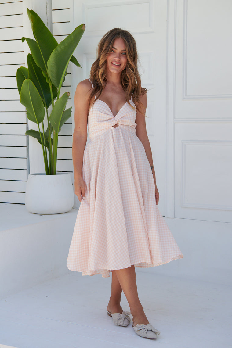 Nili Dress - Ria Gingham