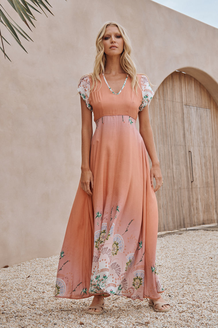 Tully Maxi Dress -  Dawn