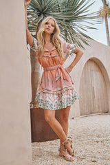 Wren Mini Dress - Dawn