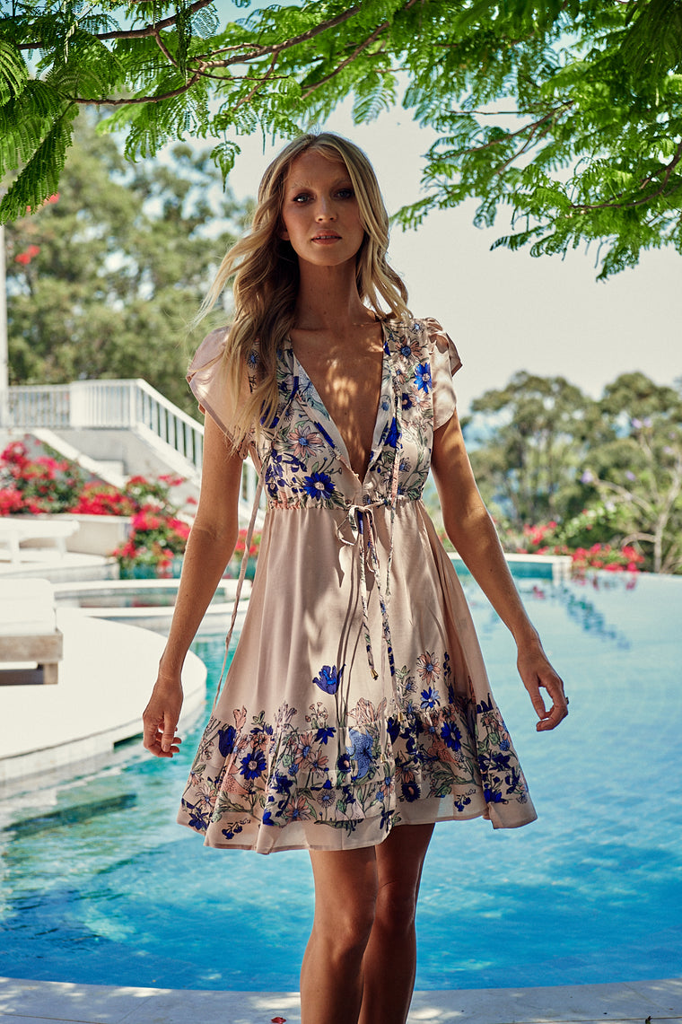 Faithful Mini Dress - Amika