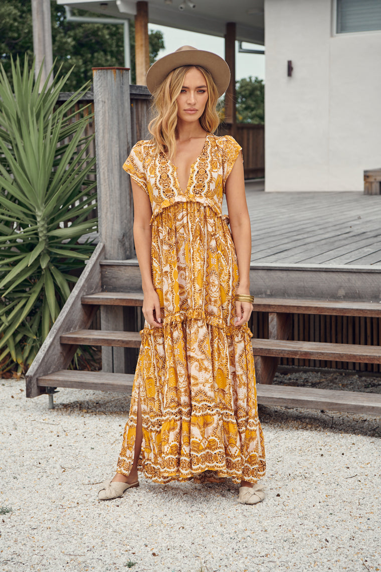 Ina Maxi Dress - Poet