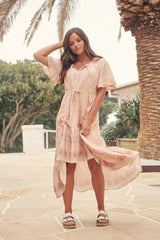 Caprice Midi Dress -  Wyntah
