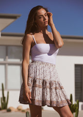Cha Cha Mini Skirt - Lulu
