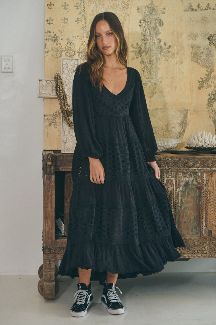 Mockingbird Maxi - Black