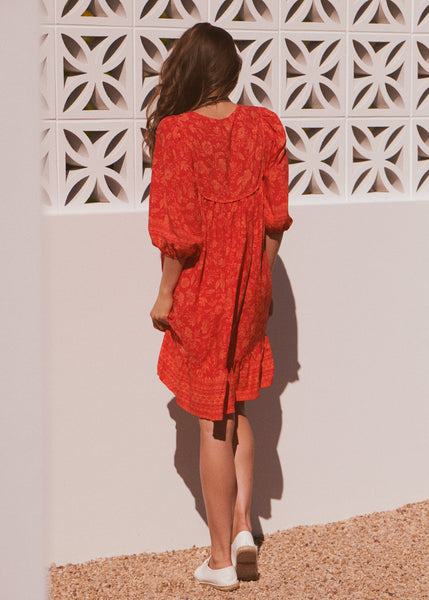 French Dress - Red Lantern