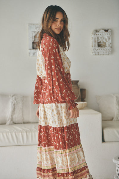 Rust Lily Of The Valley - Elizabeth Maxi