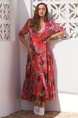 Tessa Maxi Dress -  Moulin Rouge