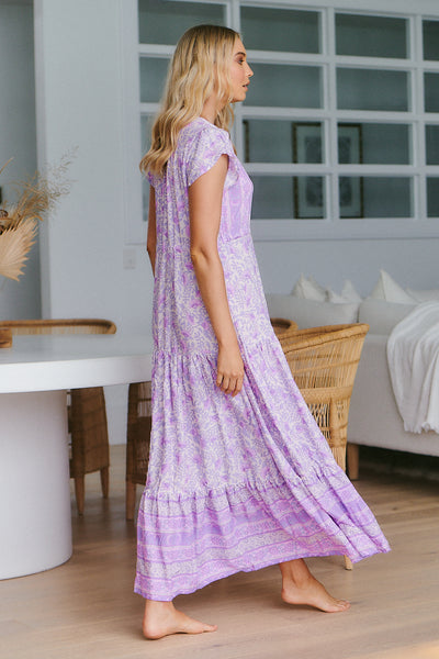 Melissa Maxi Dress -  Violet