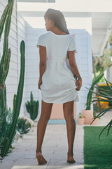 Voyage Mini Dress - White