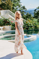 Halluana Maxi Dress - Sidney Print