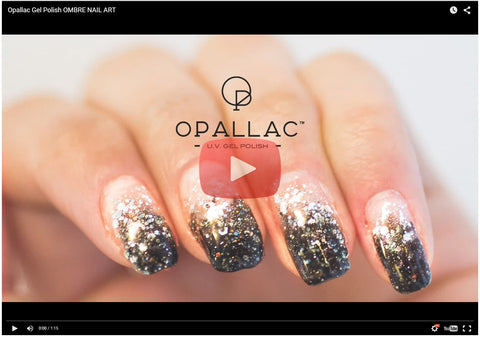 Opallac Ombre Nail Art Video