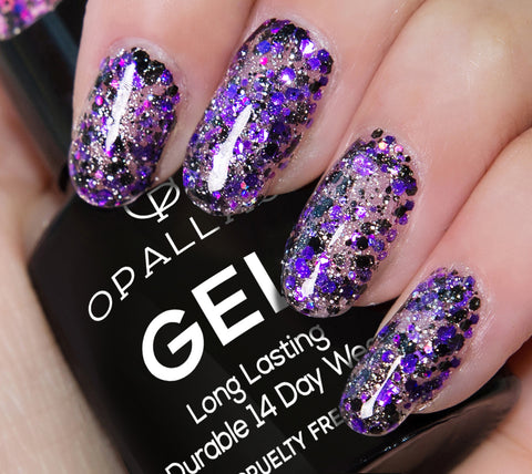Glitter After Dark (Glitter Gel Polish)