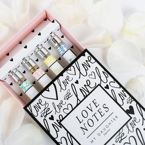Love Notes - Four Travel-Sized Scents