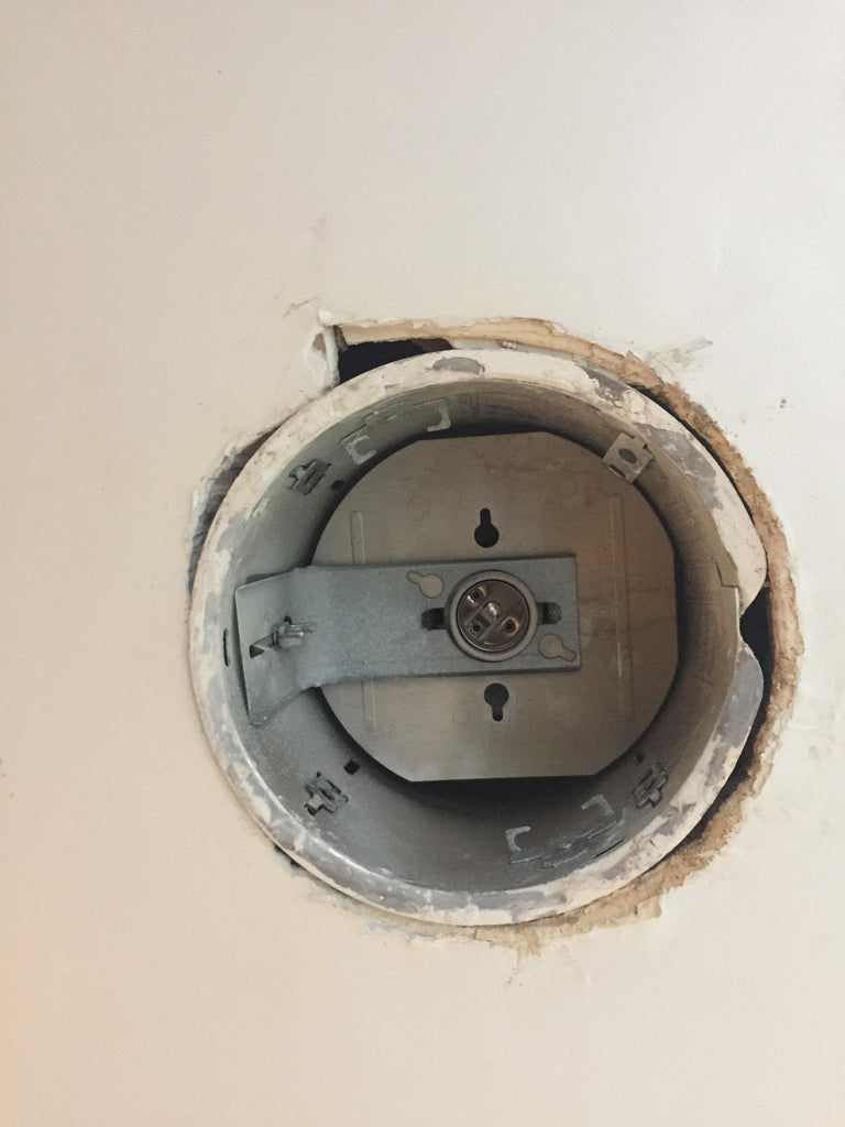 Cracked Drywall and Recessed Lights