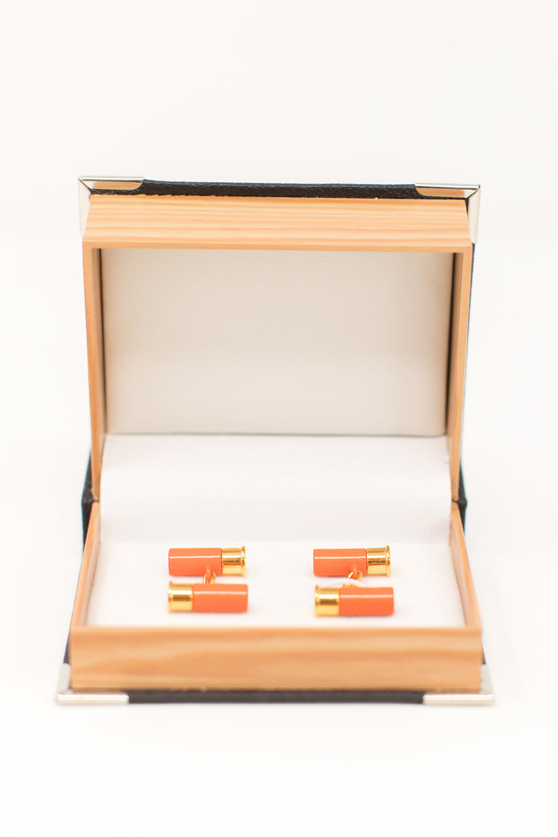 .22 Gauge Danger Cufflinks