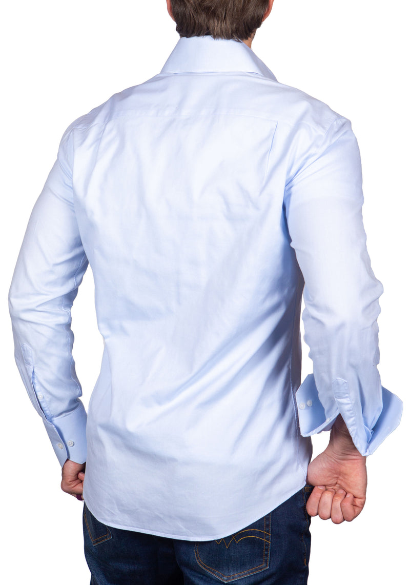Powder Blue with Big Collar