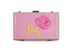 Load image into Gallery viewer, Pink Rose Clutch (Custom)