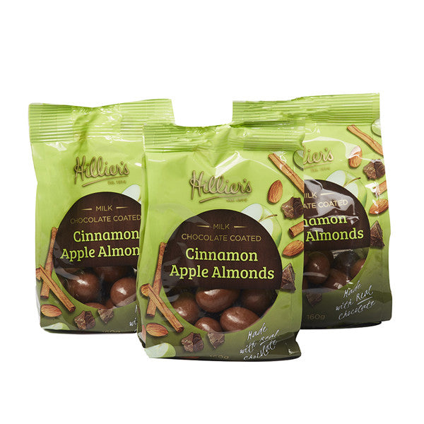 Cinnamon Apple Almonds 3 Pack