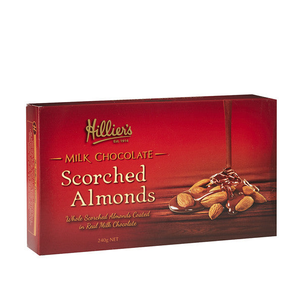 Milk Chocolate Scorched Almonds  3 Pack