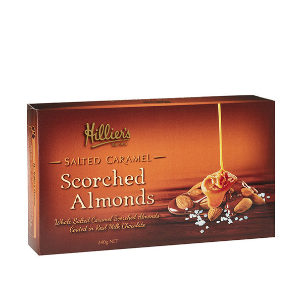 Salted Caramel Scorched Almonds 3 Pack
