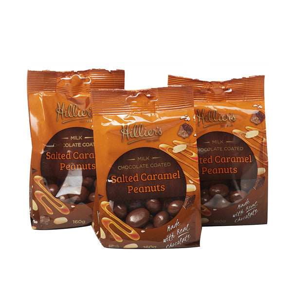 Salted Caramel Peanuts 3 Pack