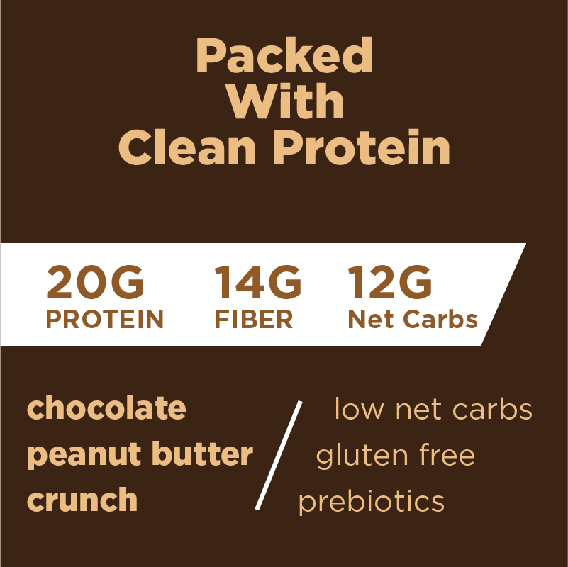 NEW Barology High Protein Energy Bar for Men - Chocolate Peanut Butter Crunch - Barologybar.com