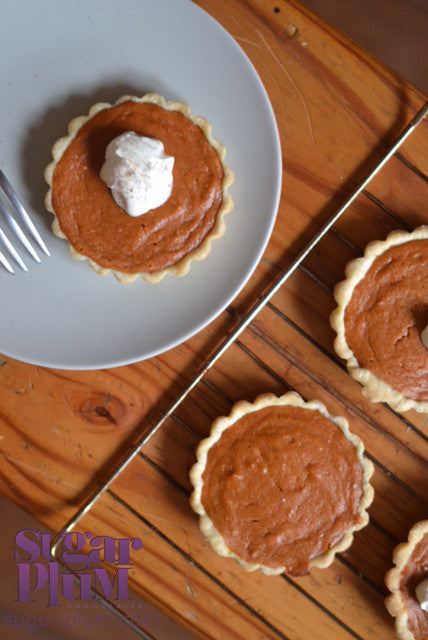 Sweet Potato & Pumpkin Spice Pie