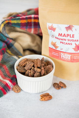 Maple Brown Sugar Pecans - Half-Pound