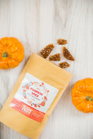 Pumpkin Spice Almond Brittle - Half-Pound