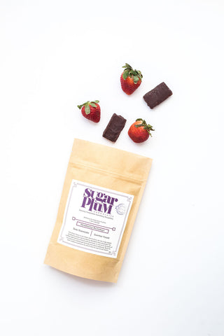 Dark Chocolate Strawberry Meltaways