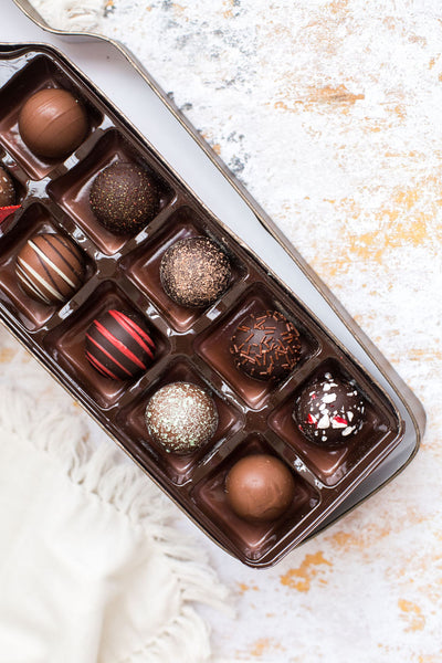 Wine Truffle Box Assortment