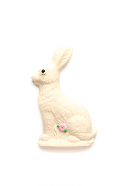 White Chocolate Half-Pound Premium Chocolate Easter Bunny