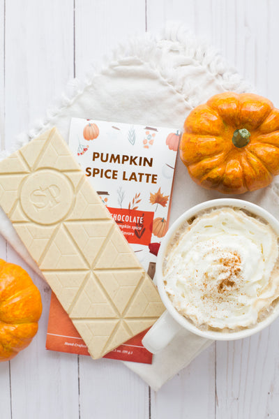 Pumpkin Spice Latte Chocolate Bars - 4 Pack