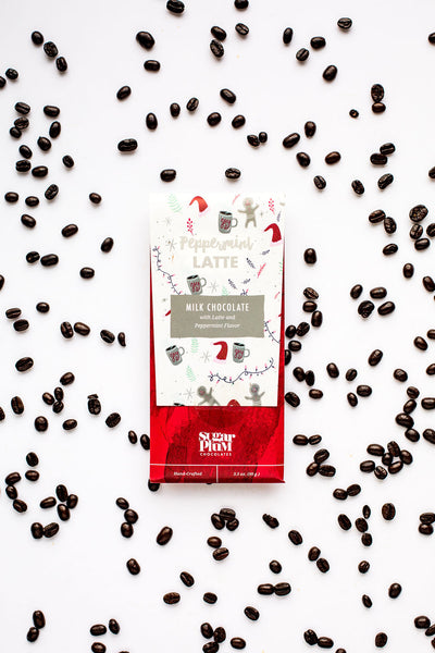 Peppermint Latte Chocolate Bar - 4-Pack