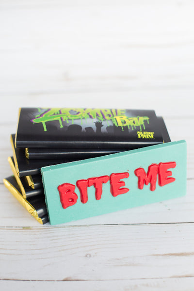 Chocolate Zombie Bar - Set of 4