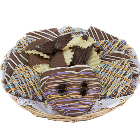 Spring Chocolate and Chips Tray - Sugar Plum Chocolates