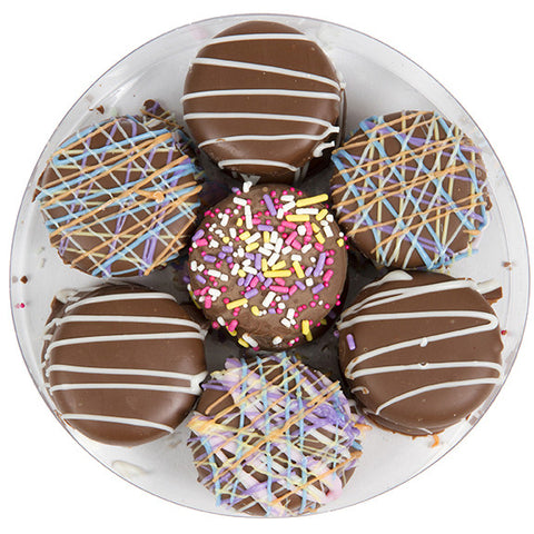 Spring Chocolate-Covered Sandwich Cookies Assortment - Sugar Plum Chocolates