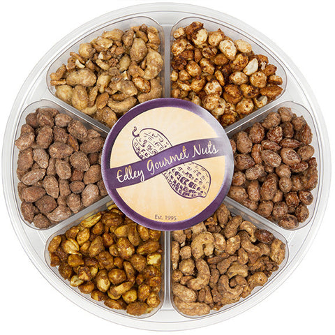 Edley Gourmet Nuts Deluxe 6-Flavor Sampler - Sugar Plum Chocolates