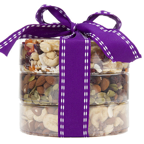 The Original Trail Mix Tower - Sugar Plum Chocolates