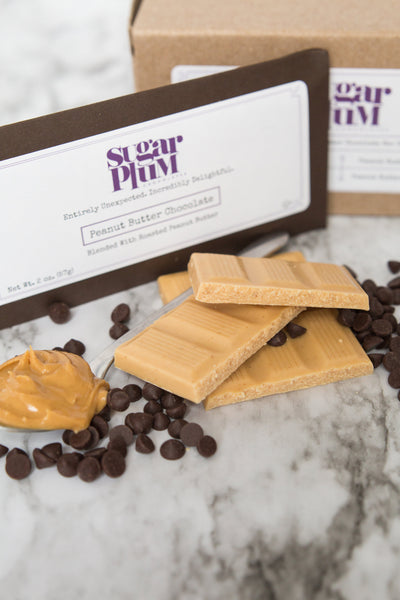 Signature Peanut Butter Chocolate Bars - Pack of 4