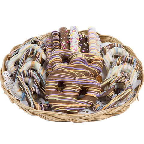 Spring Chocolate-Covered Pretzel Assortment - Sugar Plum Chocolates