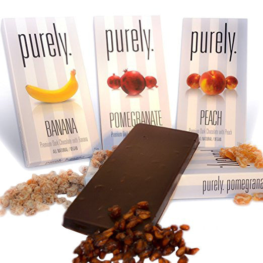 Pareve Purely Premium Vegan Chocolate Bars & Mixed Nuts Gift Sampler