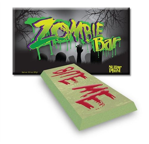 Chocolate Zombie Bar - Set of 4 - Sugar Plum Chocolates