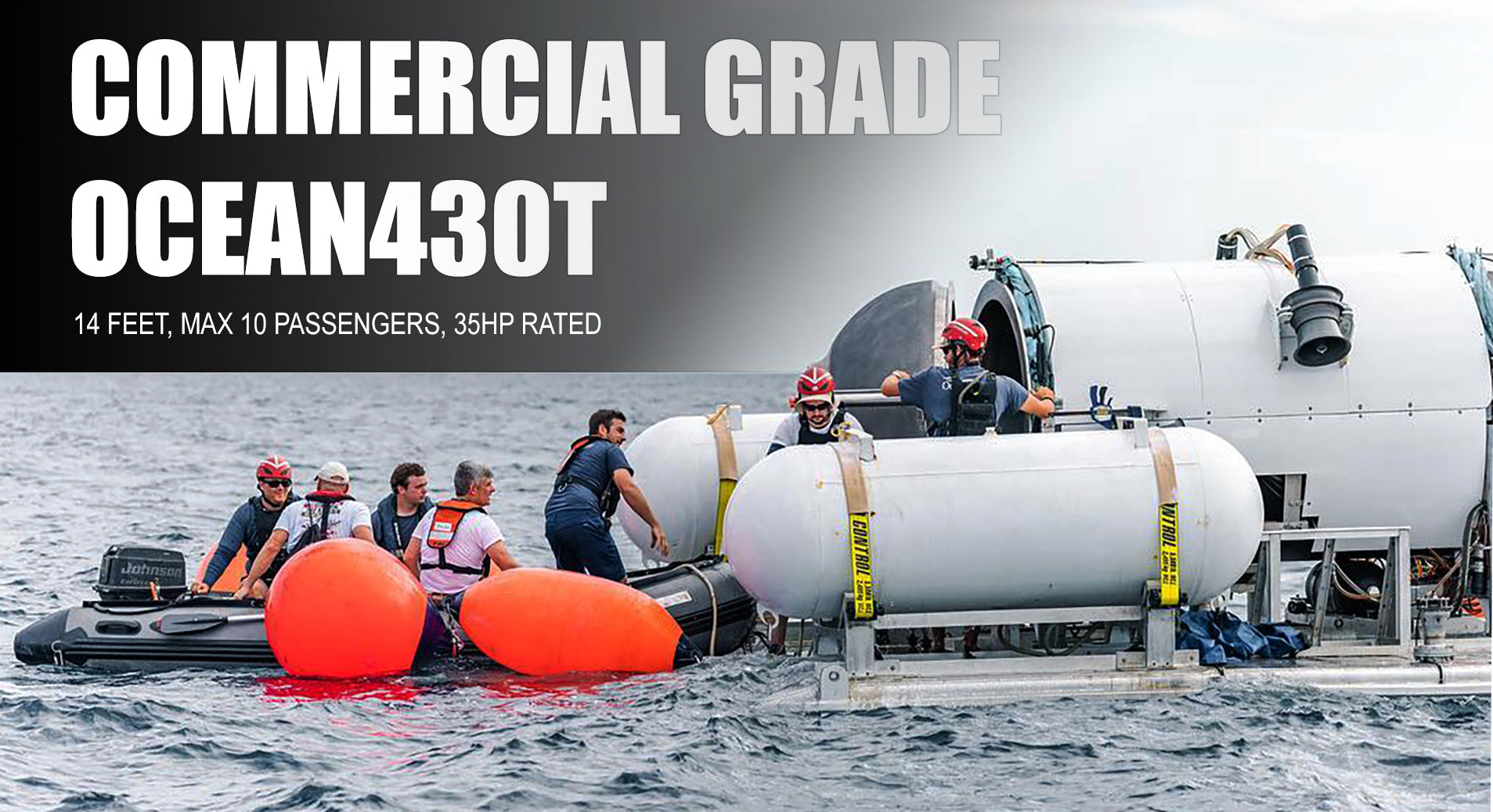 Seamax Ocean T Commercial Grade inflatable boat