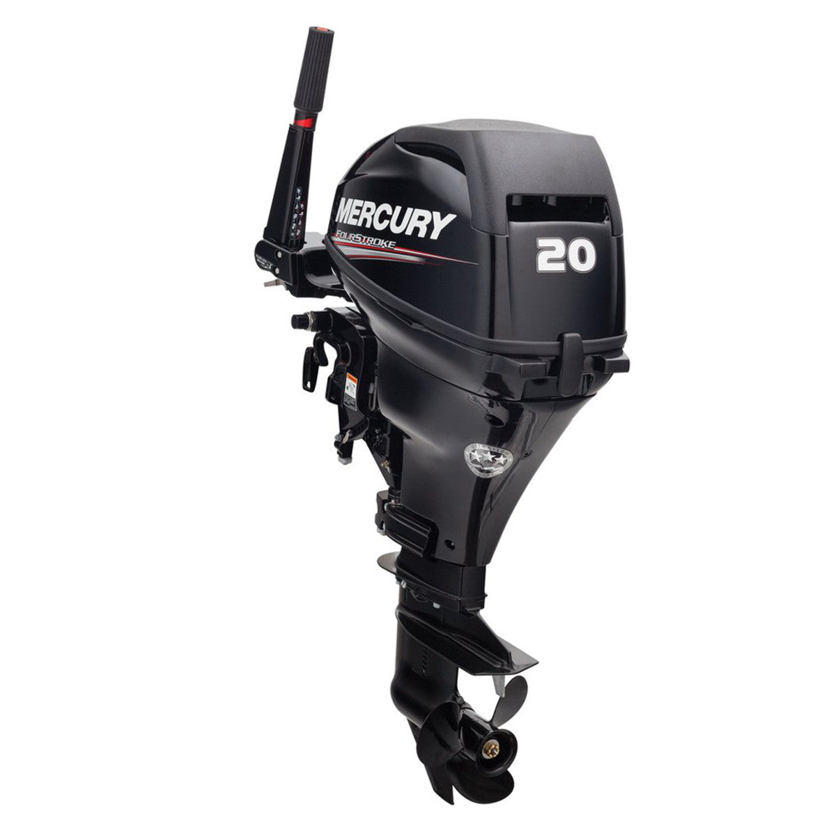 Mercury 20 HP Portable 4 Stroke Outboard Motor, Long Shaft, Electric Start,  Power Trim - Warehouse Deal
